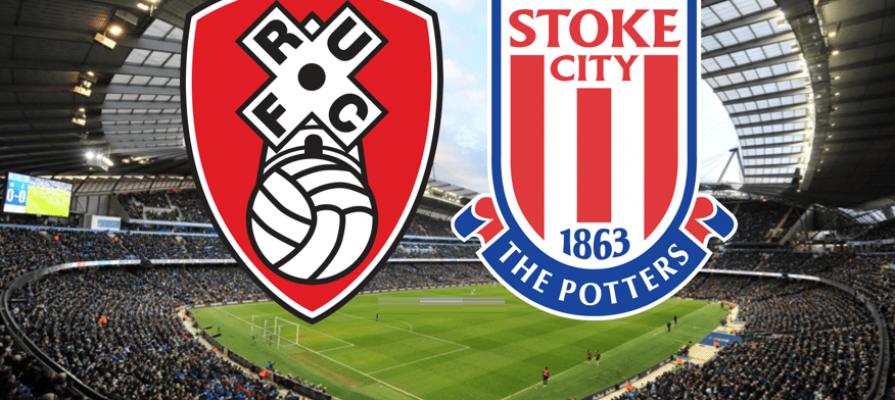 Rotherham - Stoke City