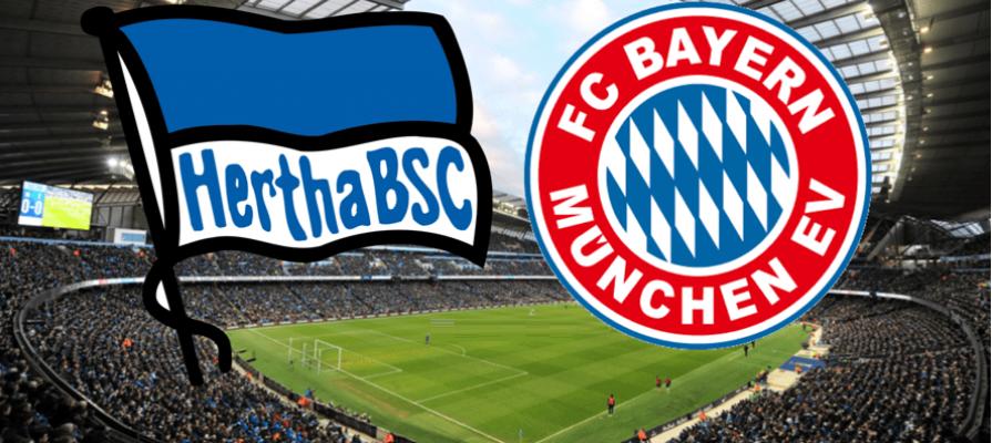 Hertha Berlin - Bayern Munich