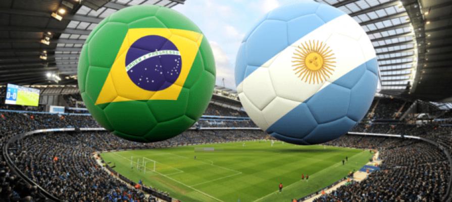 Brazil vs Argentina International Friend