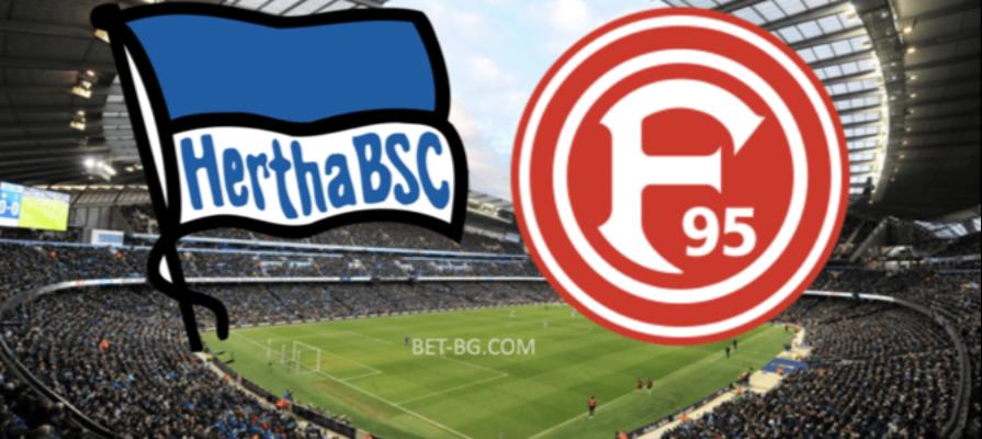 Herta Berlin - Fortuna Dusseldorf bet365