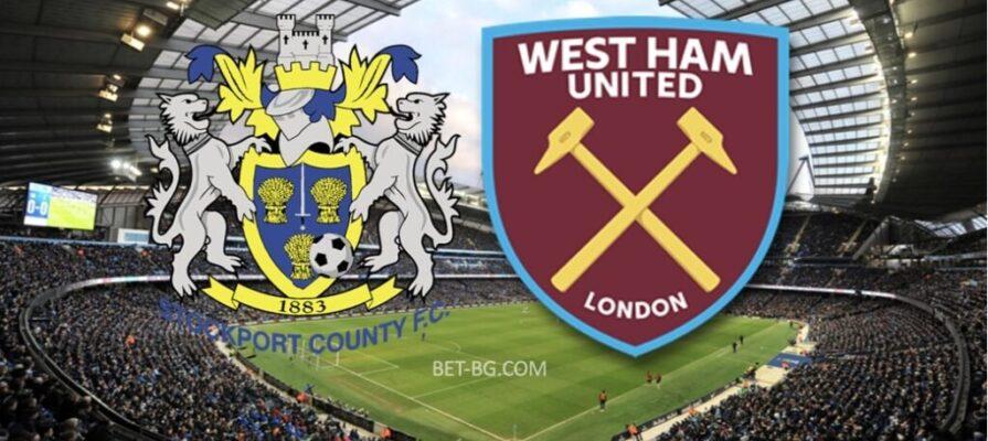 Stockport - West Ham bet365